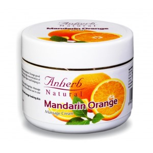Buy Anherb Natural Mandarin Orange Massage Cream - Nykaa