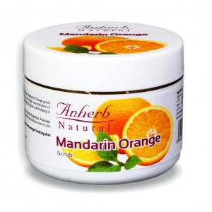 Buy Anherb Natural Mandarin Orange Scrub - Nykaa