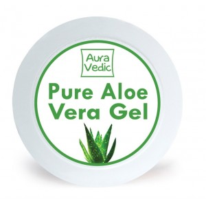 Buy AuraVedic Pure Aloe Vera Gel with Aloe Green Tea - Nykaa
