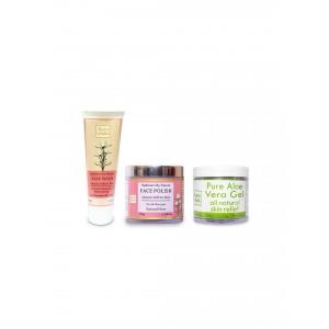 Buy Auravedic Pure Glow Facial Kit - Nykaa