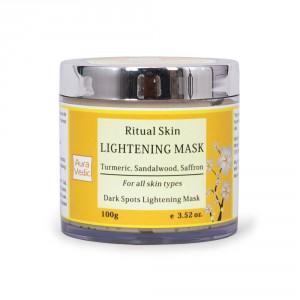 Buy Auravedic Ritual Skin Lightening Mask - Nykaa