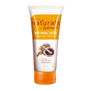 Buy Avon Naturals Ayurvedic Whitening Cream - Nykaa