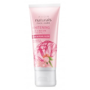 Buy Avon Naturals Rose & Pearl Glow Whitening Cream SPF 15/ PA++ - Nykaa