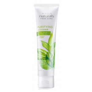 Buy Avon Naturals Green Tea & Tea Tree Oil Purifying Cleanser  - Nykaa