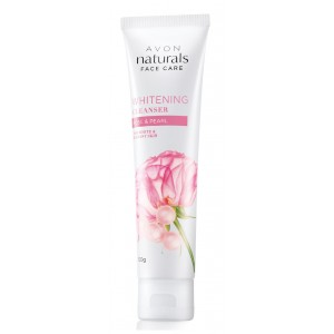Buy Avon Naturals Rose & Pearl Whitening Cleanser - Nykaa
