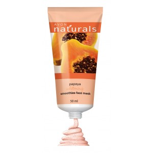 Buy Avon Naturals Papaya Smoothies Face Mask - Nykaa