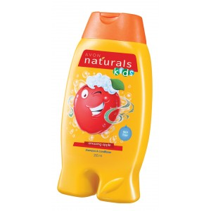 Buy Avon Naturals Kids 2 In 1 Shampoo & Conditioner - Amazing Apple  - Nykaa
