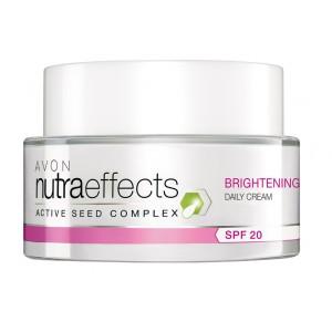Buy Avon Nutraeffects Brightening Daily Cream Spf 20 - Nykaa
