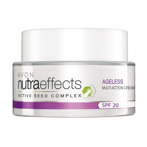 Buy Avon Nutraeffects Ageless Multi Action Cream Spf 20 - Nykaa