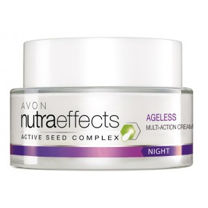 Buy Avon Nutraeffects Ageless Multi Action Night Cream  - Nykaa