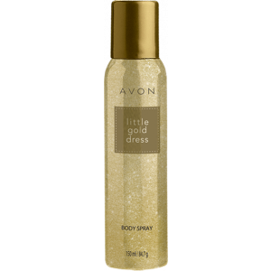 Buy Avon Little Gold Dress Body Spray - Alcohol Free - Nykaa