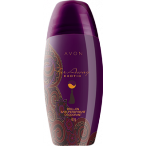 Buy Herbal Avon Far Away Exotic Roll On Deodorant - Nykaa