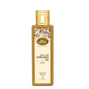 Buy Biobloom Sandalwood Patchouli After Bath Oil - Nykaa