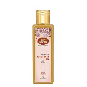Buy Biobloom Almond Liquorice After Bath Oil - Nykaa