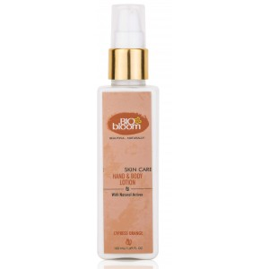 Buy Biobloom Cypress, Orange Hand & Body Lotion - Nykaa