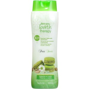 Buy Belcam Paris Sweets 3 in1 Body Wash, Bubble Bath and Shampoo - Pistachio and Cream - Nykaa