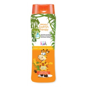 Buy Belcam Kids Body Wash and Shampoo - Zingy Orange - Nykaa