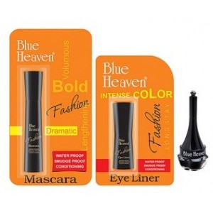 Buy Blue Heaven Fashion Eyeliner, Mascara & Artisto Kajal Combo - Nykaa
