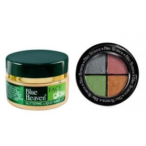 Buy Blue Heaven Face Glow Skin & Eye Magic Eye Shadow 601 Combo - Nykaa