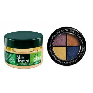 Buy Blue Heaven Face Glow Skin& Eye Magic Eye Shadow 602 Combo - Nykaa