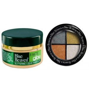 Buy Blue Heaven Face Glow & Eye Magic Eye Shadow 606 Combo - Nykaa