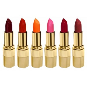 Buy Blue Heaven Combo Of 6 Xpression Lipstick (R 002, M 020, P 077, Mo 161, Cb 028 & On 100) - Nykaa