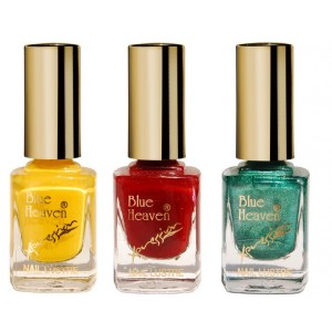 Buy Blue Heaven Combo Of 3 Xpression Nail Paint (905, 919 & 995) - Nykaa