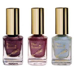 Buy Herbal Blue Heaven Combo Of 3 Xpression Nail Paint (964, 945 & 912) - Nykaa