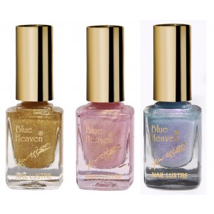 Buy Blue Heaven Combo Of 3 Xpression Nail Paint (996, 994 & 999) - Nykaa