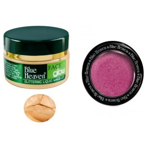 Buy Blue Heaven Face Glow Natural & Diamond Blush On 501 Combo - Nykaa
