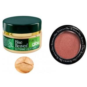 Buy Herbal Blue Heaven Face Glow & Diamond Blush On 502 Combo - Nykaa