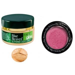 Buy Blue Heaven Face Glow & Diamond Blush On 506 Combo - Nykaa