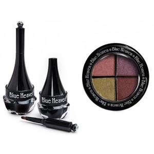 Buy Blue Heaven Eye Magic Eye Shadow 605 & Artisto Kajal Combo - Nykaa