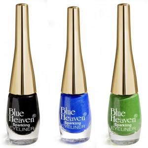 Buy Blue Heaven Combo Of 3 Sparkeling Eyeliner (04, 06, 07) - Nykaa
