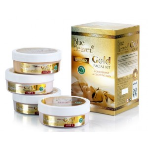 Buy Blue Heaven Gold Facial Kit  - Nykaa
