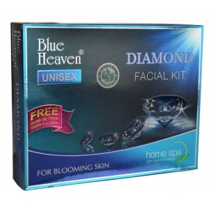 Buy Herbal Blue Heaven Diamond Facial Kit (260 GM) - Nykaa