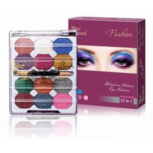 Buy Blue Heaven 12x1 Fashion Eye Shadow - Nykaa