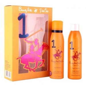 Buy Herbal Beverly Hills Polo Club Women's Deodorant And Shower Gel No.1 Gift Set - Nykaa
