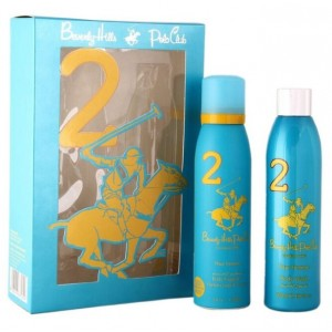 Buy Beverly Hills Polo Club Women's Deodorant And Shower Gel No.2 Gift Set - Nykaa