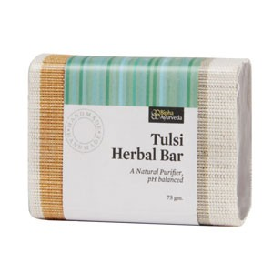Buy Bipha Ayurveda Tulsi Herbal Bar - Nykaa