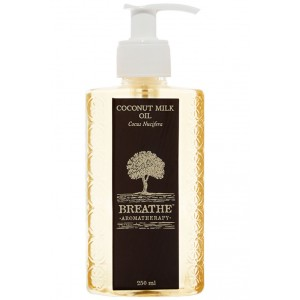 Buy Breathe Aromatherapy Coconut Milk Oil - 250ml - Nykaa