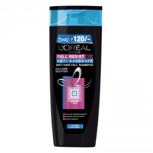 Buy L'Oreal Paris Fall Resist Anti-Dandruff Shampoo (Rs.30 Off) - Nykaa