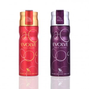 Buy Herbal Ekoz Evolve Men And Women Deodorant Combo - Nykaa