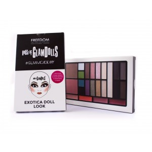 Buy Freedom Glamacademy look palette Exotica Doll - Nykaa