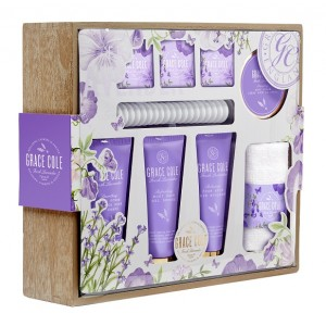 Buy Grace Cole Fresh Lavender Ultimate Indulgence Combo - Nykaa
