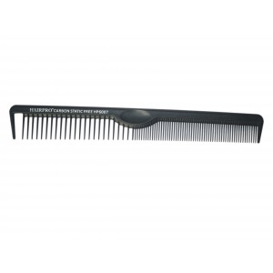 Buy Hairpro HP6007 Carbon Hair Section Comb - Nykaa