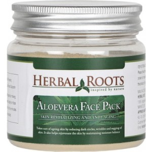 Buy Herbal Roots Skin care 100% Natural Beauty Product - Aloe Vera Face Pack - Nykaa