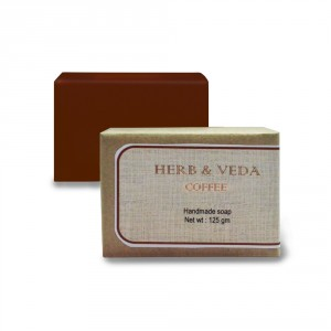 Buy Herb & Veda Coffee Handmade Soap - Nykaa