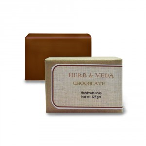 Buy Herb & Veda Chocolate Handmade Soap - Nykaa