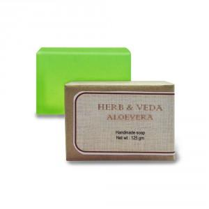 Buy Herb & Veda Aloevera Handmade Soap - Nykaa